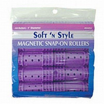 Soft 'n Style Super Jumbo Magnetic Snap Roller (00425)