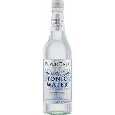 Fever-Tree Naturally Light Tonic Water, 16.9-Ounce (Pack of 8)