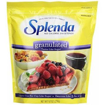 Splenda No Calorie Sweetener, Granulated 9.7 Ounce Bag