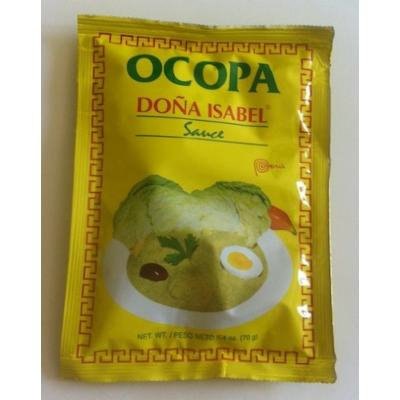 Doña Isabel Ocopa Sauce (Single Bag 2.4oz) Product of Peru