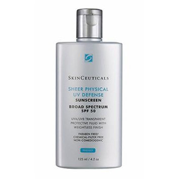 SkinCeuticals Sheer Physical UV Defense SPF 50. Professional size - 125 ml/4.2 oz. BEST BUY!
