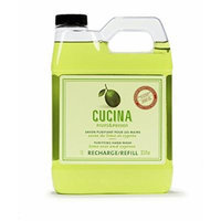 Cucina Purifying Hand Wash Refill, 33.8 Oz Plastic Jug (2, Lime Zest)