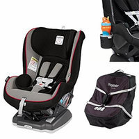 Peg Perego Primo Viaggio Infant Convertible Car Seat w Car Seat Travel Bag & Cup Holder (Sport)