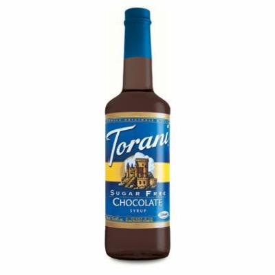 Torani Sugar Free Chocolate Syrup (1 Single 750 ml bottle)