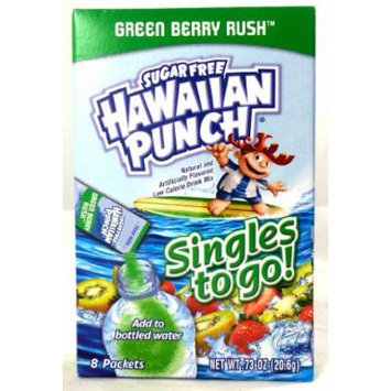 Hawaiian Punch Green Berry Rush Singles To Go