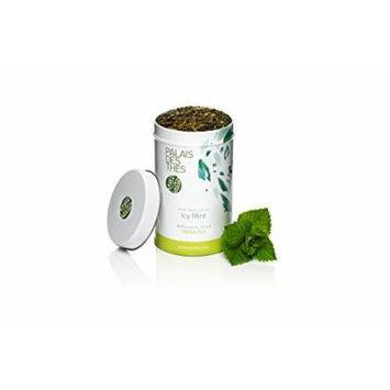 Palais des Thés Icy Mint Green Tea, 3.5oz Metal Tin