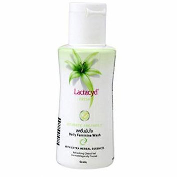 Lactacyd Fresh Intimate Freshness Daily Feminine Wash with Extra Herbal Essences, 150ml , BeautyBreeze