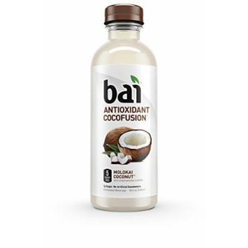 Bai Molokai Coconut, Antioxidant Infused Beverage, 18 Ounce (Pack of 12)