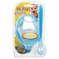 Nuby Comfort Grip Feeding Set - blue, one size