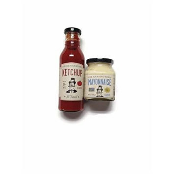 Sir Kensington Condiment Variety Set: Classic Mayonnaise and Ketchup [1 of Each]
