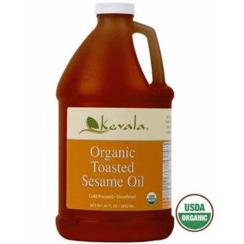 Organic Toasted Sesame Oil, Kevala, 1/2 Gallon