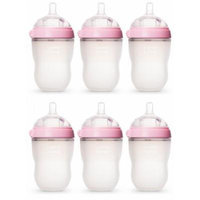 Comotomo Natural Feel 8oz. Bottle 6 Pack - Pink