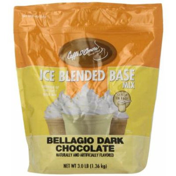 Bellagio Barista Base Blends, Dark Chocolate, 3-Pound