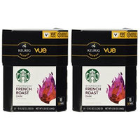 32 Count - Starbucks French Roast Coffee Vue Cup For Keurig Vue Brewers