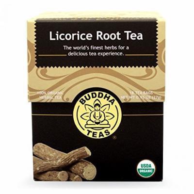 Licorice Tea - Organic Herbs - 18 Bleach Free Tea Bags