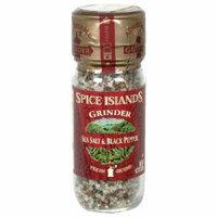 Spice Island S I Sea Salt Blk Pepper G 4.2 OZ