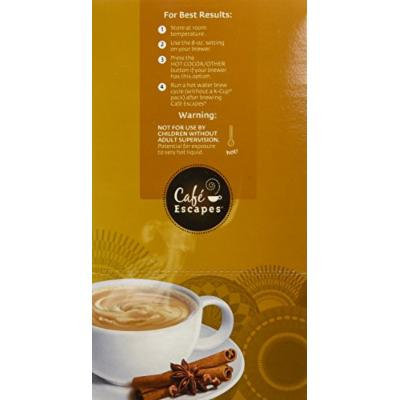 Café Escapes Chai Latte, K-Cups for Keurig Brewers, 24-Count (Pack of 2)