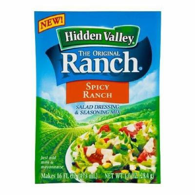 Hidden Valley the Original Ranch Spicy Ranch Dressing and Seasoning Mix 1 Oz (Pack of 6)