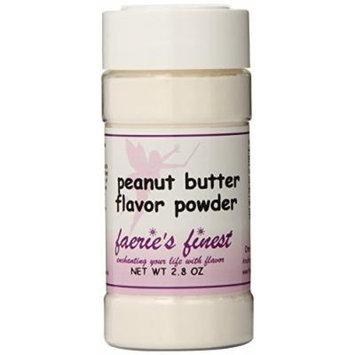 Faeries Finest Flavor Powder, Peanut Butter, 2.80 Ounce