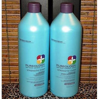 Pureology Strength Cure Shampoo and Conditioner, 33.8 oz