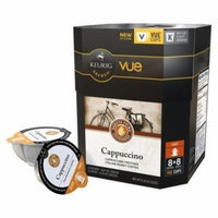 32 Count, Barista Prima Cappuccino (Unsweetened) Vue Pack 8+8, 2 Pack (Makes 16 Cappuccinos) by Barista Prima Coffeehouse [Foods]