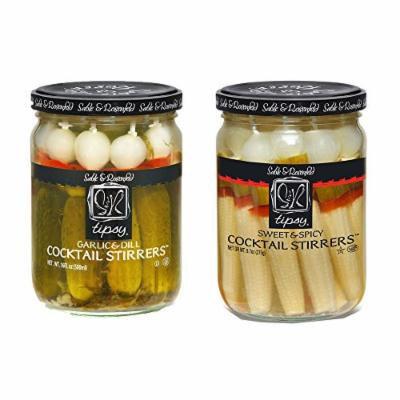 Sable & Rosenfeld Cocktail Stirrers - Earth Kosher - Cocktail Stirrers Variety Pack - 2 Pack (12 oz each)