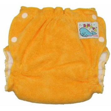 Mother-ease Sandy's Cloth Diaper (Small, Orange)