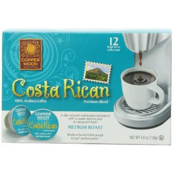 Copper Moon Aroma-Cup, single-Serve Costa Rican, 12 Count