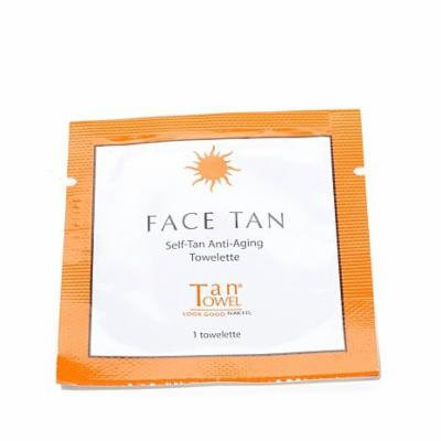 Tantowel Face Tan Self-tanning Towelettes for the Face - Six Packettes