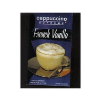 Cappuccino Supreme French Vanilla, Pack of 5 Pouches
