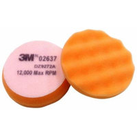 3M Finesse-it Buffing Pad 02637, Hook-and-Loop Attachment, 3-3/4