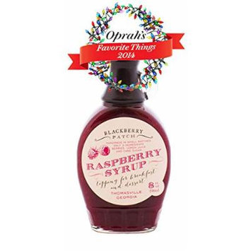Blackberry Patch PREMIUM 8 oz Raspberry Syrup (SUGAR)