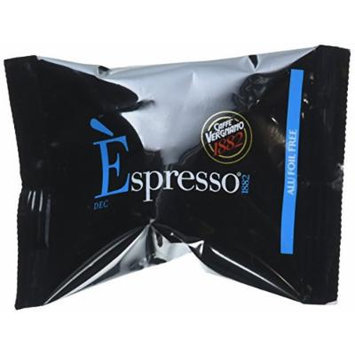 10 Biodegradable Èspresso Capsules by Caffe Vergnano, Nespresso Compatible (Decaf)