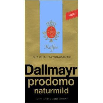Dallmayr Prodomo Naturmild (Dallmayr Naturmild Coffee), 17.6-Ounce Vacuum Packs (Pack of 2)