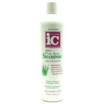 Fantasia IC Shampoo 100% Pure Aloe 16 oz. (3-Pack)