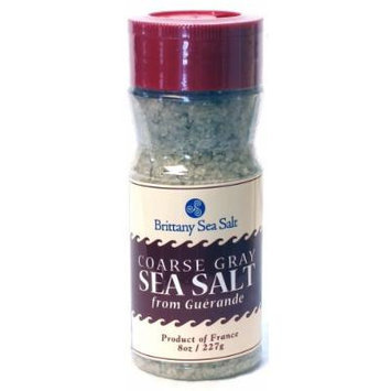 Coarse Gray Sea Salt from Guérande 8 oz Shaker Bottle