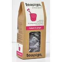 Teapigs Rhubarb and Ginger Tea 15 Bags