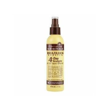 Renpure Originals Brazilian Keratin 4 Day Straight Flat Iron Spray 6 fl oz