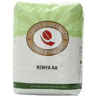Coffee Bean Direct Kenya AA, Whole Bean Coffee, 5-Pound Bag