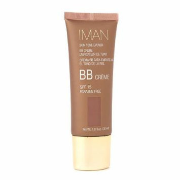 IMAN Skin Tone Evener BB Cream , Earth Deep 1 oz