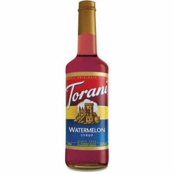 Torani Watermelon Syrup, 750 Ml Plastic Bottle