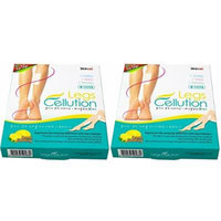 Skinae Legs Cellution Lemon Flavoring Cooling, Lining and Relaxing R Patch 2 Box,8 Pouches (1 Box=4 Pouches,1 Pouch = 2 Sheets)
