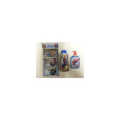 SPIDER MAN HAND WIPES 3 PACK, HAND SOAP AND BODY WASH PACK OF 3