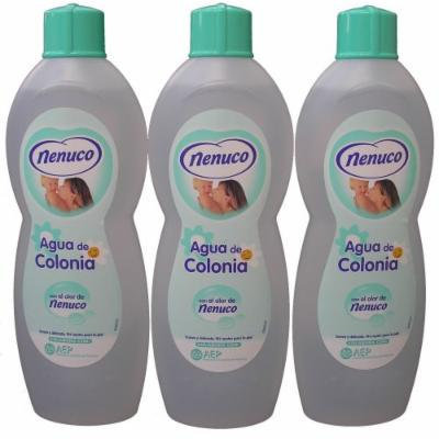 3 Nenuco Baby Cologne/agua De Colonia 20oz./600ml