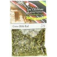 Los Chileros Green Chile Rub, 1 Ounce (Pack of 12)