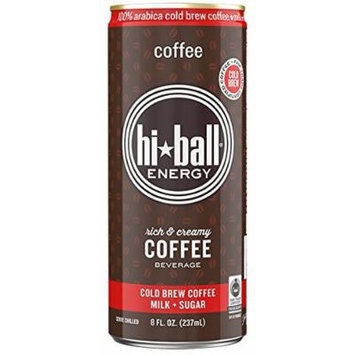 Hi*ball Energy 8 Oz (Pack of 12) (Coffee)