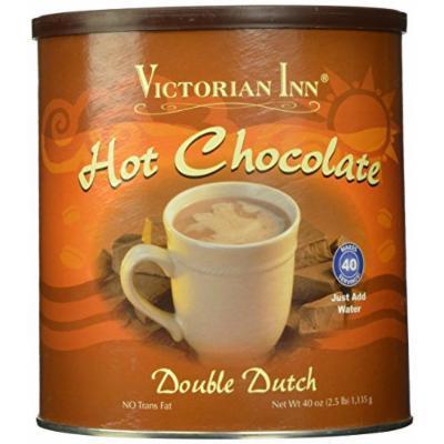 Victorian Inn Instant Hot Chocolate, Double Dutch, 40 Ounce