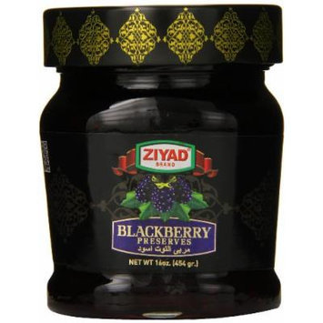 Ziyad Jam, Blackberry, 16 Ounce