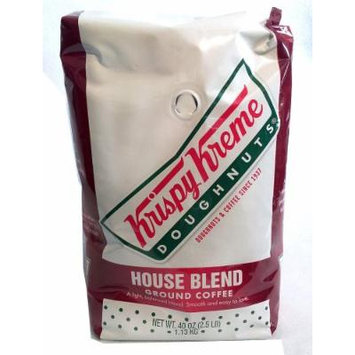 Krispy Kreme Doughnuts House Blend Ground Coffee 2.5 lb.