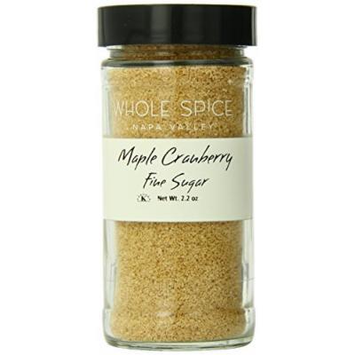 Whole Spice Maple Cranberry Fine SugarJar, 2.2 Ounce